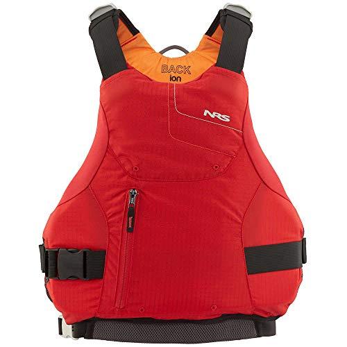 NRS Ion Kayak Lifejacket (PFD)-Red-XL/XXL