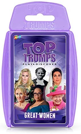 Great Women Top Trumps Card Game product image