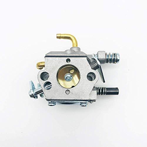 Carburador Carb para MP16 45CC 52CC 58CC Motosierra Carb 2 tiempos Motor 4500 5200 5800 Motosierra Gasolina Jardín Herramientas - para motocicleta Carburador tornillos de repuesto