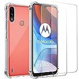 For Moto Motorola E7i Power Case and Screen Protector, E7i