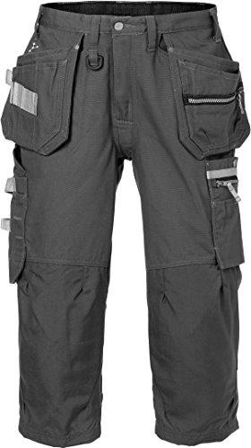 Fristads Kansas Workwear 110316 3/4 Handwerkshose Gr. 54, dunkelgrau