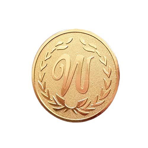 Goldhand,Glücksmünze,Viel Glück,Glück,Herausforderungsmünze,Gewinnspiel,Sammelregal,Ausstellungsschrank,Metall,2 Stück,40Mm Gute Qualität/Silber/Einheitlicher Code