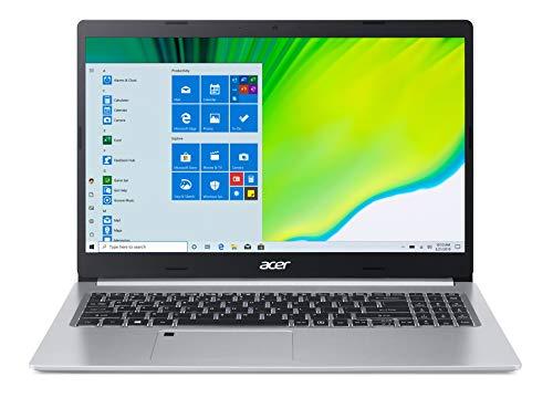 """Acer Aspire 5 Slim and Light, 15.6"""" FHD, Ryzen R7, 12GB RAM, 512GB SSD, Backlit Keyboard, Windows 10, Silver, A515-44-R2LN"""