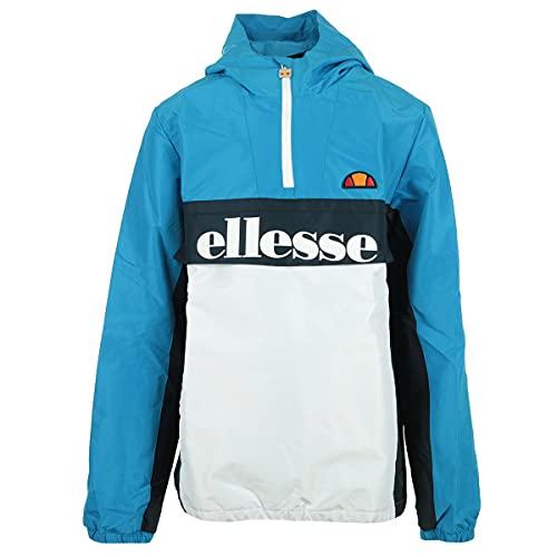 ellesse Garinos 1/2 Zip Jacket Jacke für Kinder, Jungen, Weste, S1G08591_XXS, blauweiß, 3_4