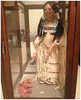 Morning Song, Native American Bride Doll by Judy Belle