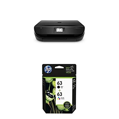 HP Envy 4520 Wireless Color Photo Printer with Scanner and Copier with Ink Bundle
