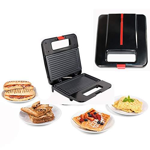 OOFAT Plancha Electrica, Sandwich Tostador, Grill con Control De La Temperatura, 4-Slice...