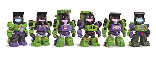 Constructicons, Transformers Kids Nations Mini Figure Series TF04, Set of 6 by Kidslogic