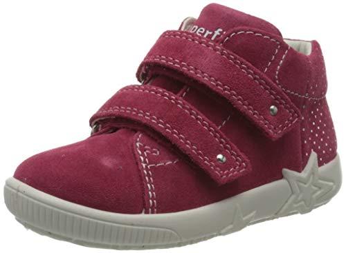 Superfit Baby Mädchen Starlight Sneaker, Rot (Rot 50), 21 EU