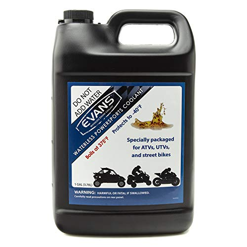 EVANS Coolant Powersports Waterless Engine Coolant (Gallon, 1 Pack)