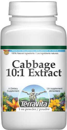 Extra Strength Cabbage 4:1 Extract Powder (1 oz, ZIN: 513800)