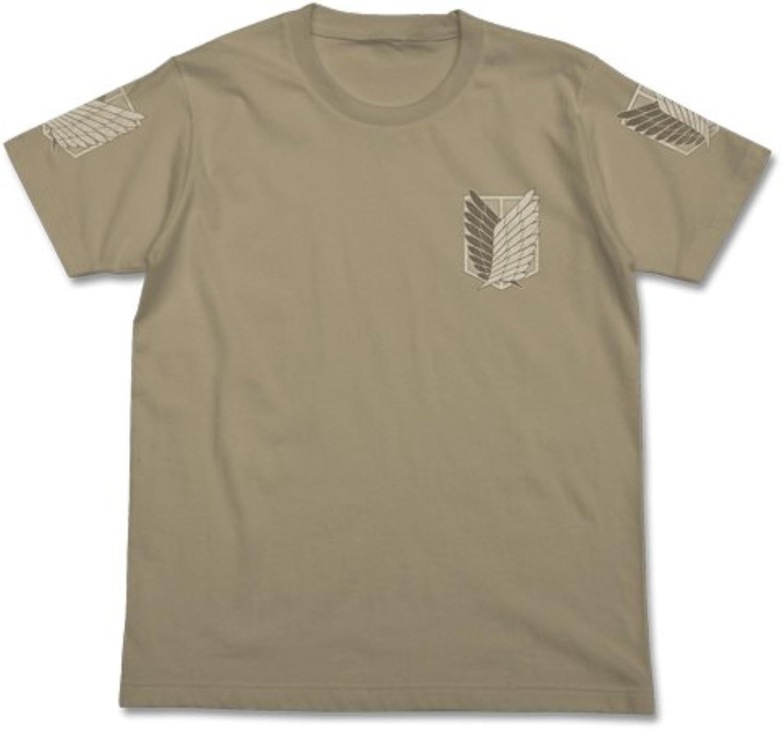 Attack on Titan Scouting LegionT shirt Sand Khaki Size  XL (japan import)