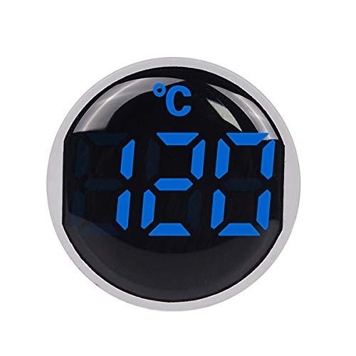 Greatangle-UK SINOTIMER ST16C 22 mm runde LED-Digitalanzeige Thermometer Temperaturmesser Tester Anzeige Signalleuchte -20-120 ℃ Blau
