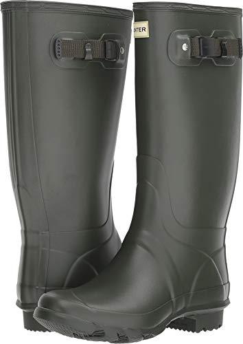HUNTER Huntress Field Boot Dark Olive 8