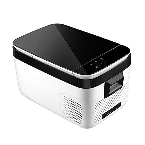 HELOU Home Refrigerador Portátil Congelador Refrigerador para Automóvil Refrigerador para Automóvil con Pantalla Táctil De Compresor para Vehículo Camión RV Camping Viajes Conducción Al Aire Libre