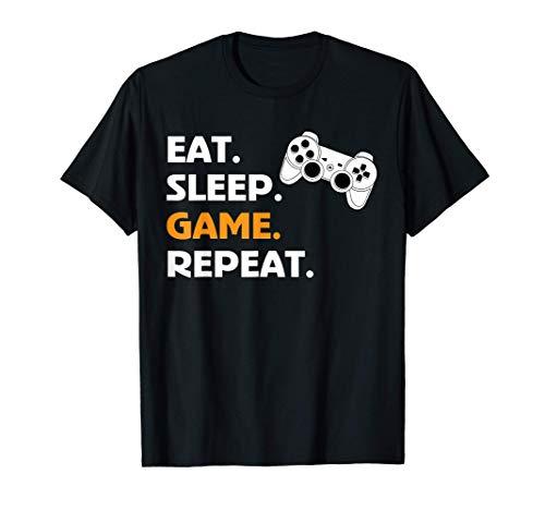 Gaming zocken Konsole Geburtstag Gamer Geschenk T-Shirt