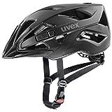 uvex Touring CC Casco de Bicicleta, Unisex-Adult, Black Mat, 52-57 cm