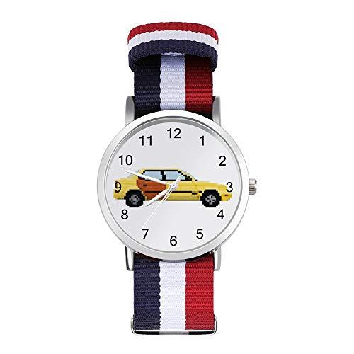 Better Call Saul Pixel Auto Suzuki Esteem Freizeit Armband Uhren Geflochtene Uhr mit Skala