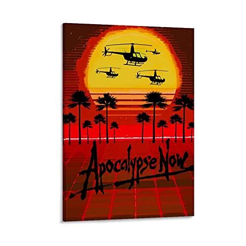 Poster sur toile Apocalypse Now 2 avec dessin animé japonais 30 x 45 cm