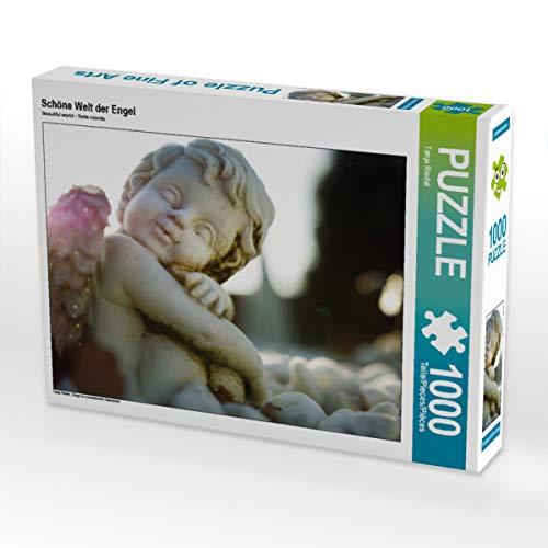 CALVENDO Puzzle Schöne Welt der Engel 1000 Teile Lege-Größe 64 x 48 cm Foto-Puzzle Bild von Tanja Riedel
