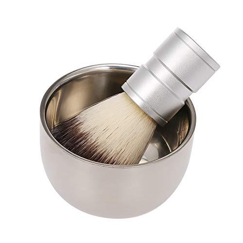 Brosse de rasage pour hommes avec tasse de savon bol crème Barber Salon Men Facial Beard Nettoyage Outils