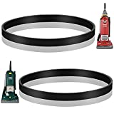 MEROM Replacement Belts Compatible with Eureka 4870 & 4800 Series Boss Ultra Smart Vac Upright Vacuums, Style R Belt Fit Models 4870, 4872, 4874, 4880, 4885, Replace Part Number 61110, 61110A (2 Pack)