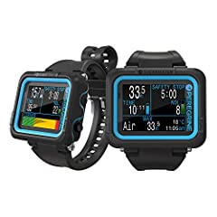 "Multiple Diving Modes - Air, Nitrox, 3 Gas Nitrox, Gauge 2.2"" LED LCD display with vivid, enhanced colour range and saturation Uses Bühlmann ZHL-16C with gradient factors. Shearwater dive computers never lockout for dive plan deviations. Two-button i..."