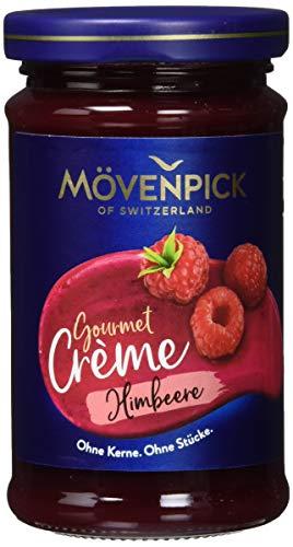 Mövenpick Gourmet-Crème Himbeere Fruchtaufstrich, 8er Pack (8 x 250 g)