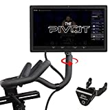 Compatible Peloton Pivot Screen Swivel: The Pivot is compatible with Peloton Bikes (Original) & its swivel allows you to rotate your monitor 360 degrees for any viewing angle to enhance your work outs! Made for Generation 3 or older Peloton Bikes. Th...