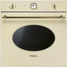 SMEG Coloniale SF800PO - Horno empotrable (72 L), color crema