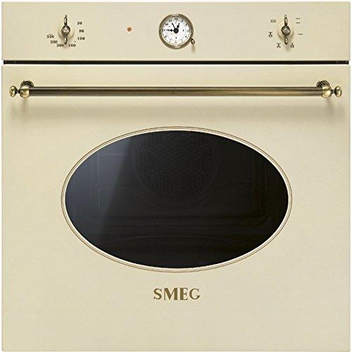 Smeg SF800PO - Horno (Horno eléctrico, 72 L, 72 L, 0-250 °C, Crema de color, Giratorio)