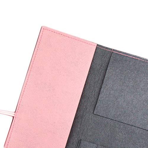 Pencil Case GCX Wasserfarbenstift-Halterung für Pinsel, Vorhang, Pinsel, Aufbewahrung, speziell, tragbar, literarischer Stil, Filzstifte-Etui, langlebig (Farbe: Rosa)