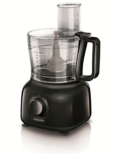 Philips Daily Collection HR7629/90 650-Watt Mini Food Processor (Black)