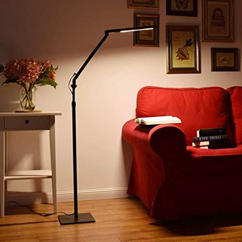 JBP Max staande lampen, woonkamerlamp, LED-vloerlamp, studentenbureau, lamp, verstelbare super-oogbescherming, 4