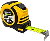 Komelon SL52425; 25' x 1.06' Self-Lock Powerblade II Tape Measure, Yellow/Black