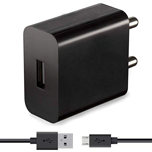 Mobile Fast Charger for Xiaomi Redmi 3s Prime, Mi 3S Prime, Mi 3 S Prime, Mi Three S Prime, Xiaomi Redmi3 S Prime, Xiomi Mi Redmi 3S Prime, Xiaomi Redmi 3 S Prime Charger Original Adapter Like Mobile Charger | Mobile Charger | Fast Charger | High Speed Charger with 1 M Micro USB Charging Data Cable( 2.4 Amp Black )