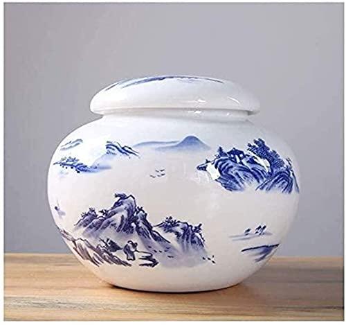 MJMJ Urna De porcelana para Las Cenizas