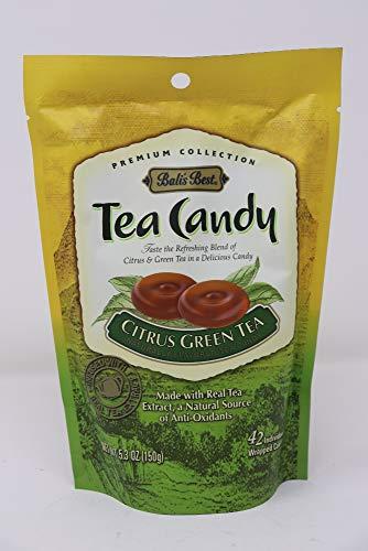 Bali's Best Citrus Green Tea Candy 5.3 Ounces