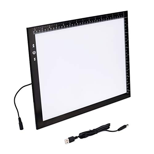 HSK B4 Light Pad Light Box 40 and 30 Centimeter Ultra Thin 5 Millimeter With 10 Watt Led light