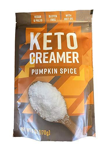 360 Nutrition Pumpkin Spice Keto Coffee Creamer 6 0z! Pumpkin Spice Flavor Keto Creamer! Gluten Free, Vegan & Paleo With MCT Oil! Keto Friendly Coffee Creamer!