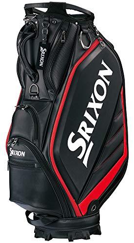 ダンロップ(DUNLOP) スリクソン キャディバッグ メンズ スポーツレプリカモデル ブラック 10.0型 GGC-S164 ゴルフバック