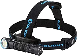 OLIGHT Perun 2000 Lumens Rechargeable LED Headlamp, Multi-functional Compact Hands-free Right-angle Light, 3500mAh 18650 B...