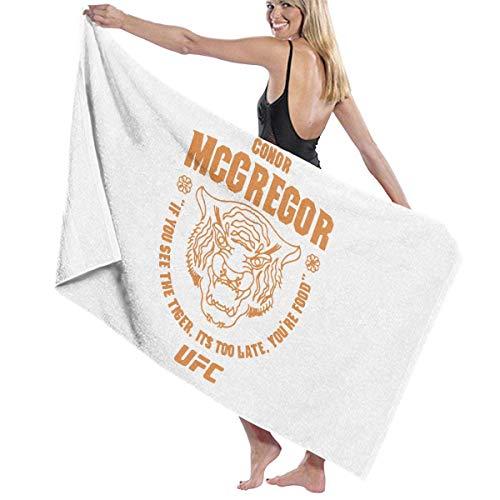 FERNMXZ Toalla de baño, Toallas de baño Conor Mcgregor UFC