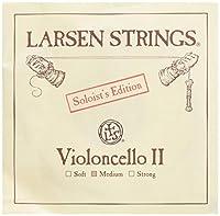 LARSEN STRINGS (ラーセン ストリングス) 弦 D Soloist スチール/クロムスチール巻 Cello (チェロ) 用