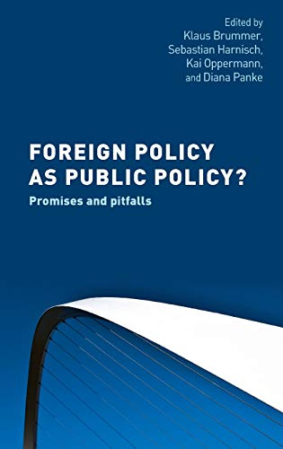 Foreign policy as public policy?: Promises and pitfalls