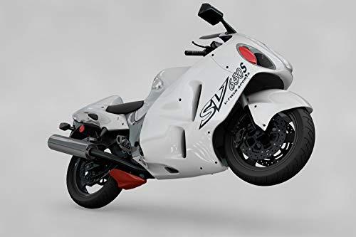 myrockshirt Motorrad Seitenaufkleber Suzuki SV 650 S Twin Sports Aufkleber Sticker Decal Profi-Qualität ohne Hintergrund Bike Tuning