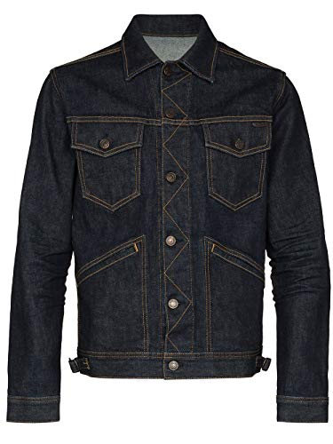 Tom Ford Luxury Fashion Herren TFD111BUJ18B08 Blau Baumwolle Jacke | Frühling Sommer 20