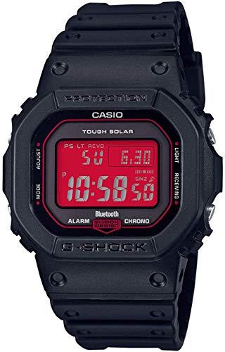 Casio Reloj Digital para Hombre de maquinaria Japonesa de Cuarzo con Correa en Resina GW-B5600AR-1ER