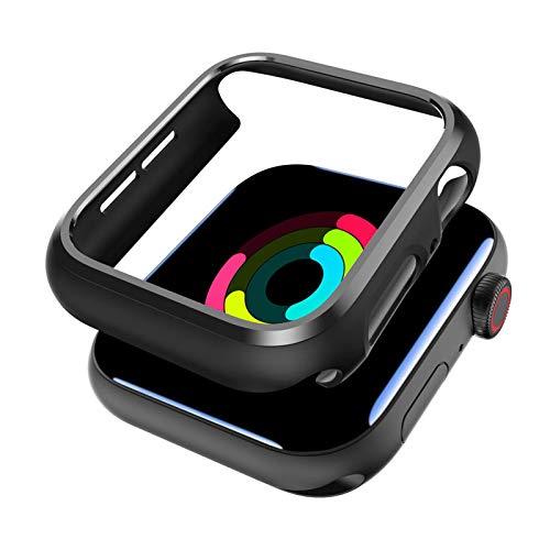 Funda Protector para Apple Watch 4/5/6/SE Serie 44 mm [2 Unidades], Ultra Delgado y Liviano Resistente a los Arañazos Estuche Protector para Apple Reloj Serie 4/5/6/SE