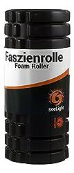 Faszienrolle • MYO • Foam Roller von seeLight - zur Massage der Triggerpunkte und Faszien